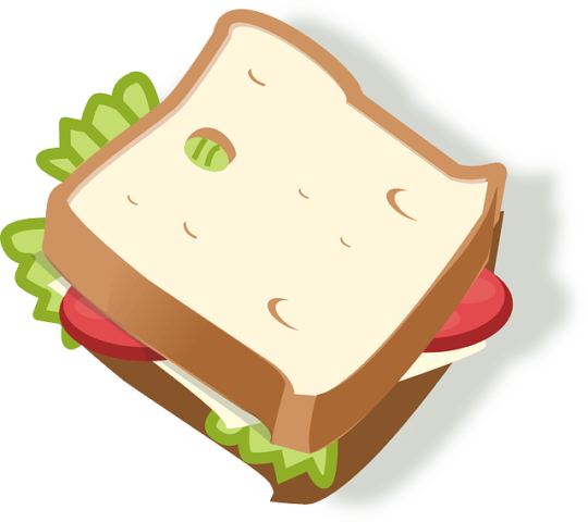send your friends Sandwich emoji