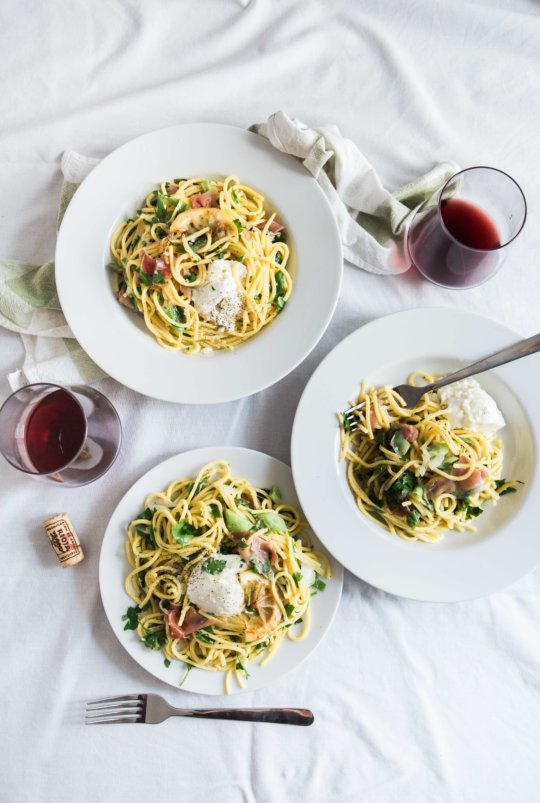 Chicken Scampi with Angel Hair Pasta