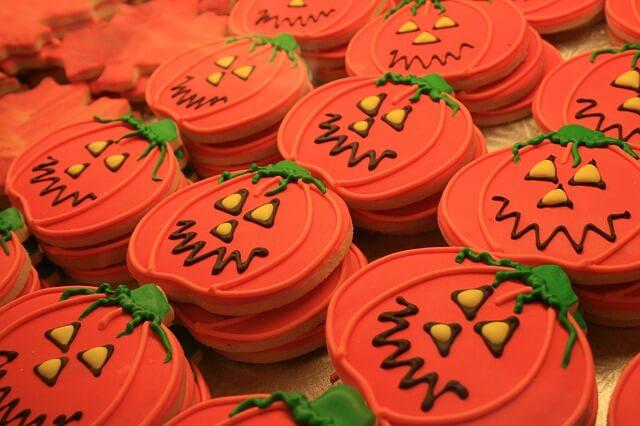 No-Bake Vegan Pumpkin Cookies