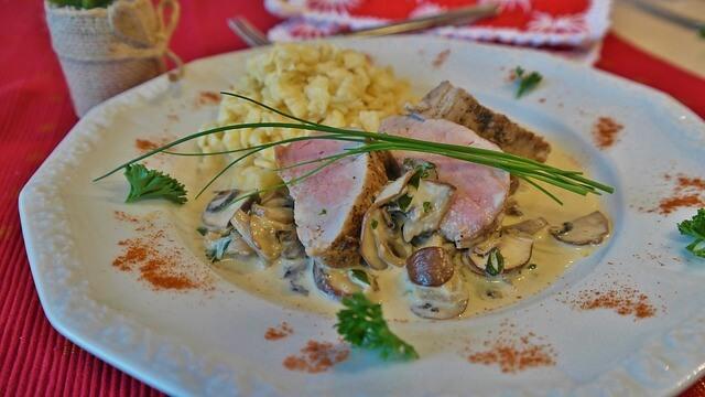 Pork Medallions In Mushroom Sauce