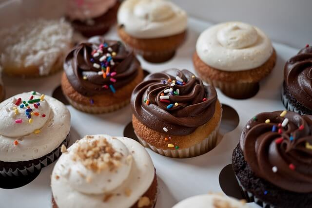 Nutella Buttercream Cupcakes