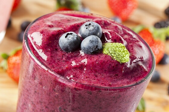Creamy Zucchini Blueberry Smoothie