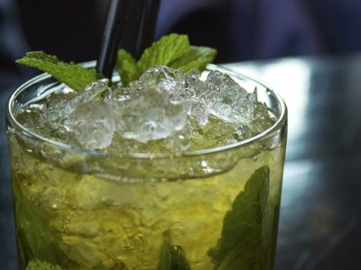 Mint-Chocolate Grasshopper Cocktail