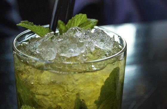 Mint-Chocolate Grasshopper Cocktail